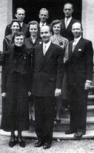 امبراطورة النمسا زيتا مع أولادها الثمانية