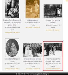 صور من الموقع الرسمي لأرشيدوق النمسا أوتو وصور طفولته