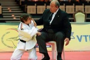 الحكم الدولي محمد رشوان في رياضة الجودو