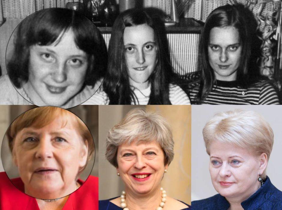 مقارنة بين أنجيلا ميركل و تيرزا ماي ورئيسة ليتوانيا السابقة
