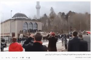 ادعاء مسجد تم اغلاقه في بريطانيا