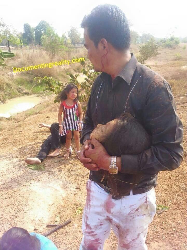 حقيقة هذه الصور تعود لحادث سير راح ضحيته فتاة عمرها 8 سنوات قطع رأسها، وهي ليست في ميانمار