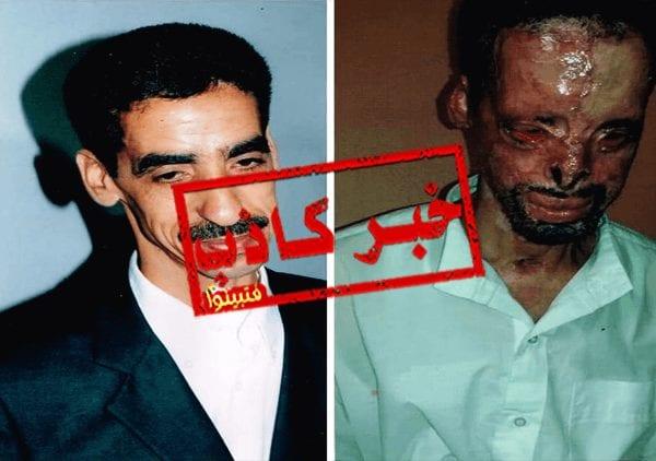 هذه الصورة لا تعود لرجل من ضحايا حريق محطة القطار في مصر، وإنما لرجل مغربي يدعى محمد لوريقي