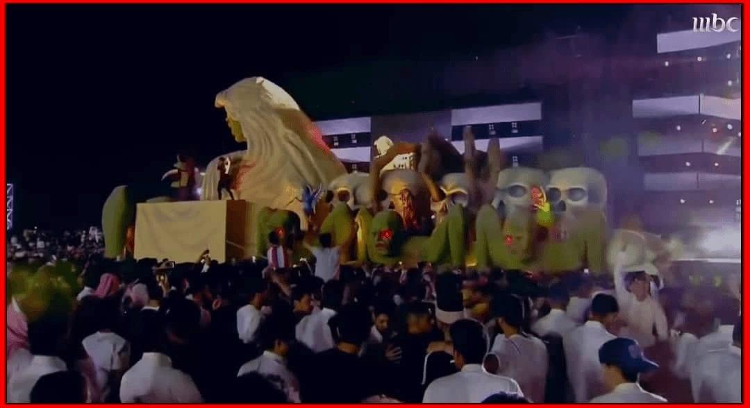 صور من فعاليات افتتاج موسم الرياض الترفيهي
