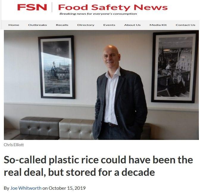 صورة من موقع foodsafetynews