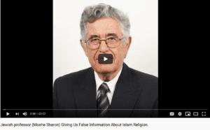 البروفيسور الإسرائيلي موشيه شارون يتحدث عن الإسلام وُيحذّر منه