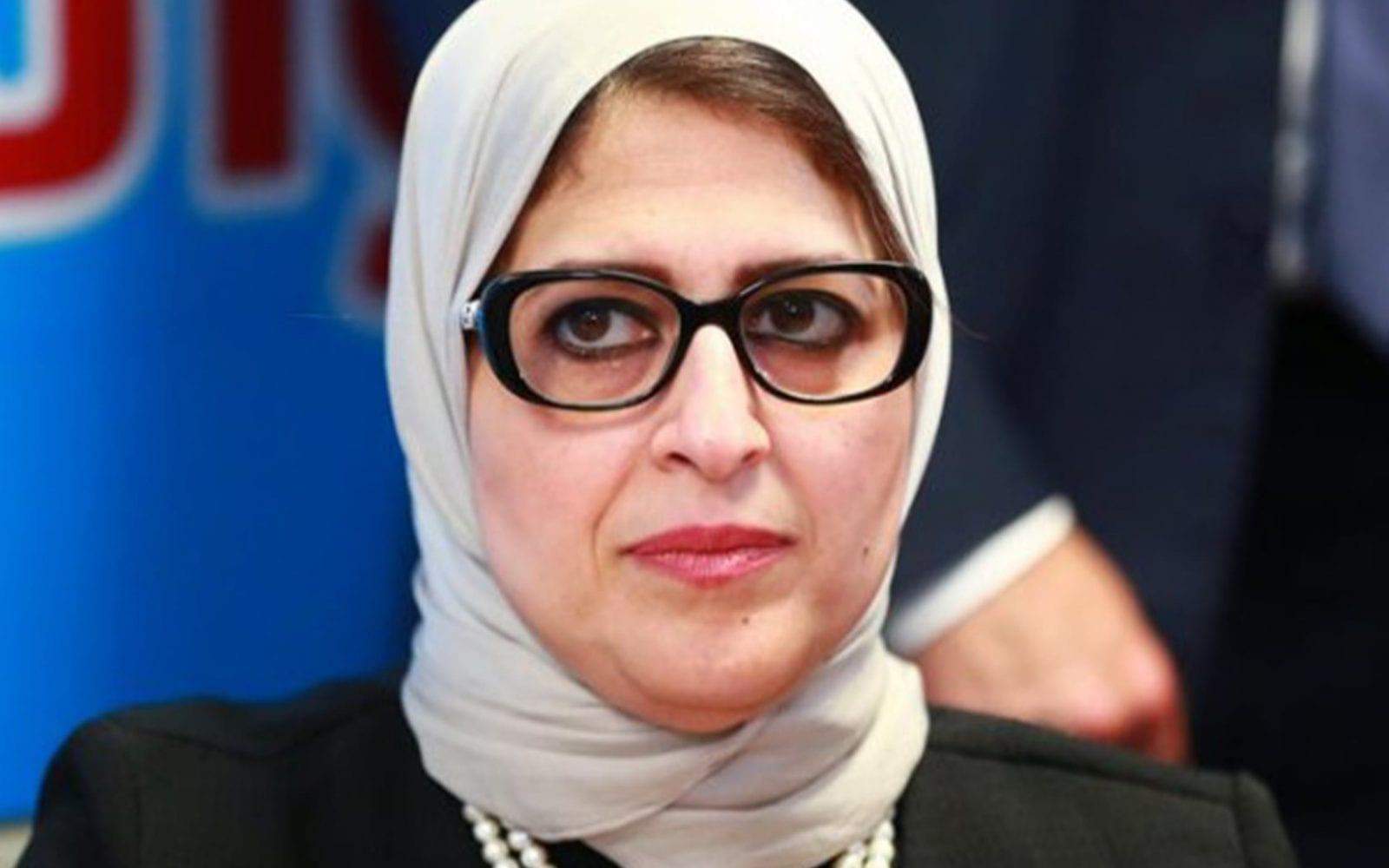 تصريح وزيرة الصحة المصرية بوجود 600 ألف متبرع بلازما.. زائف