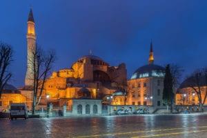 صورة مسجد آيا صوفيا إسطنبول تركيا