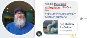 تصريح صاحب الصورة الأصلية موجة ضخمة في شكل قطة