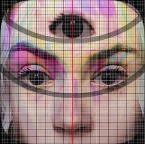 خطوط لوجه ب 3 عيون Instagram - فتبينوا