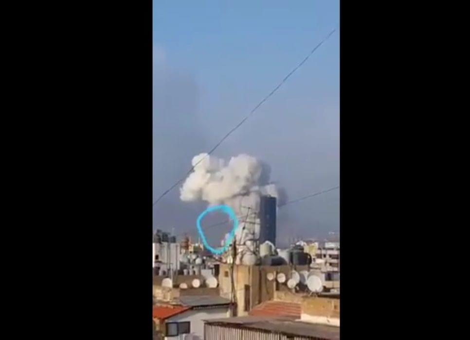 مجرد طائر وليس جسم مجهول يضرب مرفأ بيروت