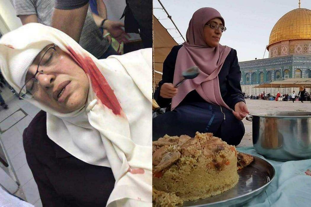 امرأتان خديجة خويص وزينة عمرو