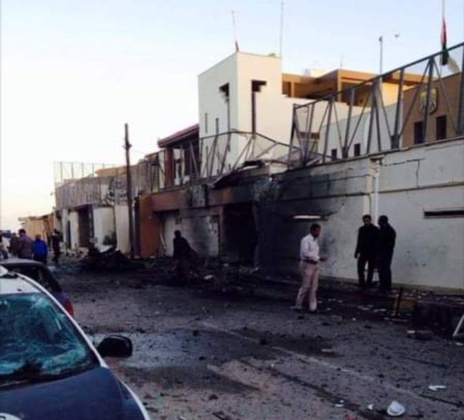 سفارة الإمارات ليبيا سيارة مفخخة 12.11.2014