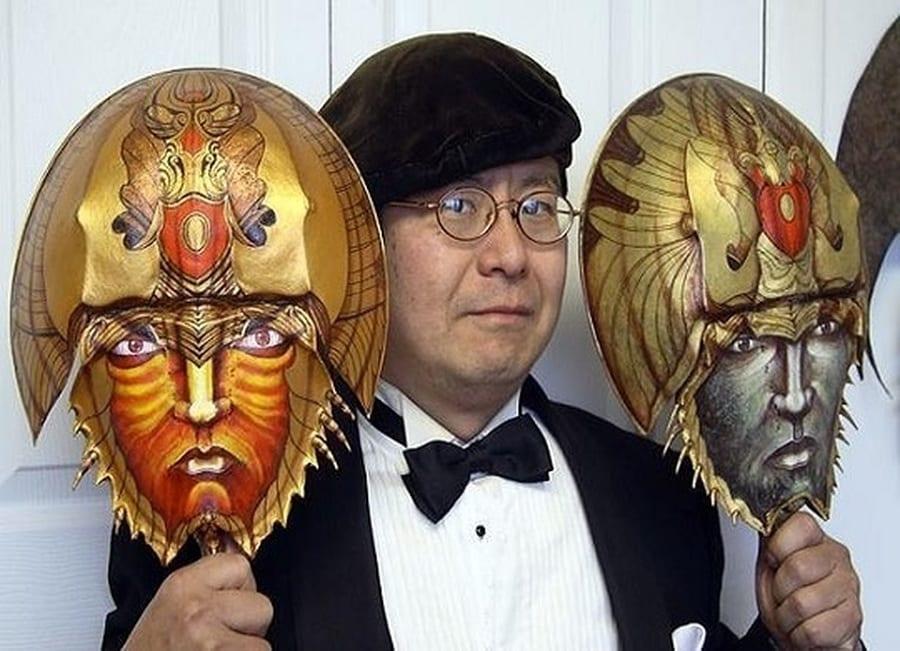 Takeshi Yamada مصمم جماجم غامضة