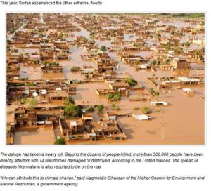 ايجاد الصورة في موقع وقد نشرت عام 2013 ل فيضانات السودان