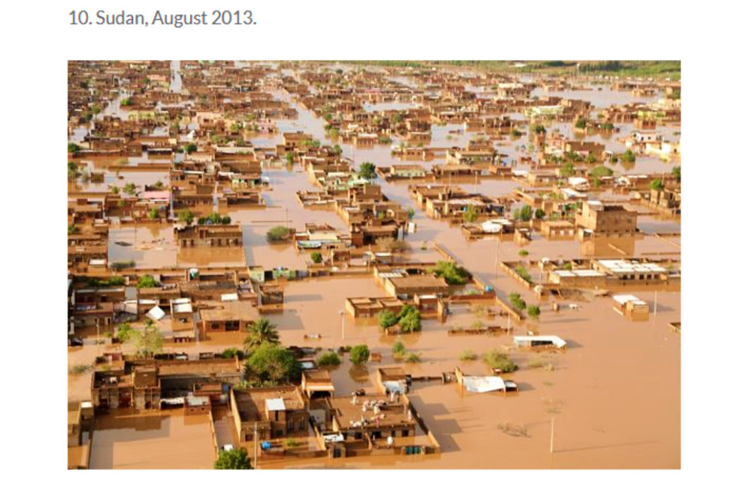 فيضانات السودان - فتبينوا Floodings in 2013