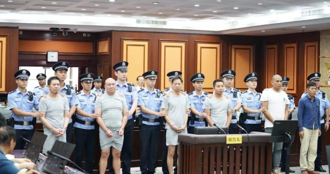 عصابة في الصين محاولة قتل فاشلة