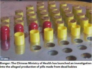 وزارة الصحة الصينية تحقق في الحبوب التي مصدرها أجنة وأطفال ادعاء مضلل فتبينوا
