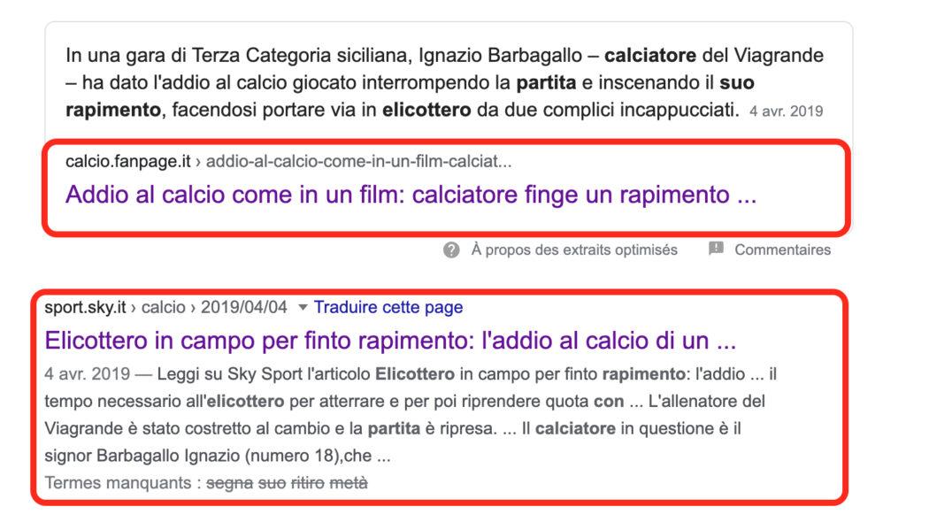 تفاصيل عملية اختطاف مزيف جرت في إيطاليا كرة القدم