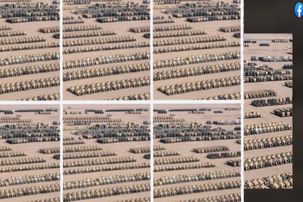 عتاد عسكري أمريكي وليس في الجزائر