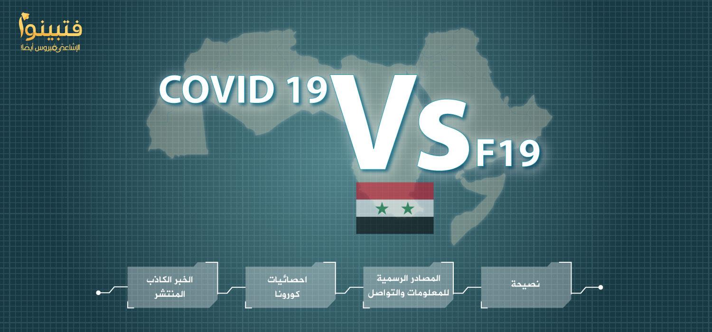 سوريا كورونا