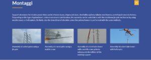 تركيب الهياكل لأبراج الضغط العالي Roda SpA فتبينوا
