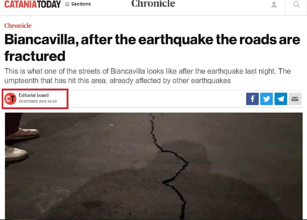 زلزال بانكوفيلا إيطاليا 2018 فتبينوا