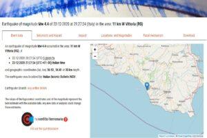المعهد الوطني للجيوفيزياء وعلم البراكين حول الزلزال الأخير فتبينوا