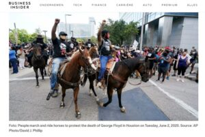 صورة تعود لوكالة AP عن مظاهرات جورج فلويد في أمريكا فتبينوا