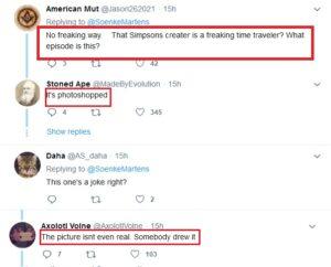 Soenke Martens on Twitter سمبسون لم يتنبأ باقتحام الكونغرس فتبينوا