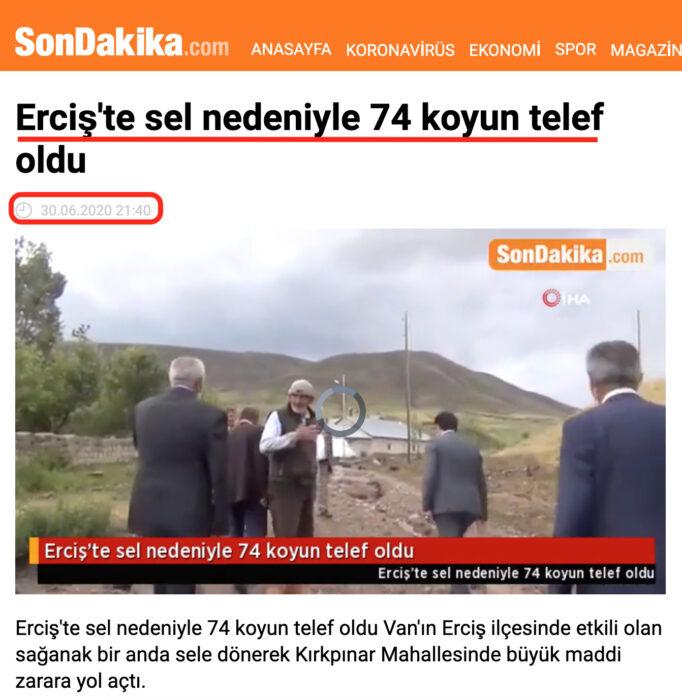 فيضانات قوية في تركيا مقطع قديم