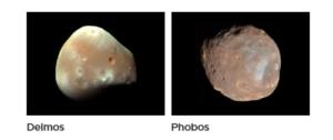 أقمار كوكب المريخ Mars Moons فتبينوا