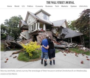 زلزال يضرب نيوزيلندا عام 2011 فتبينوا