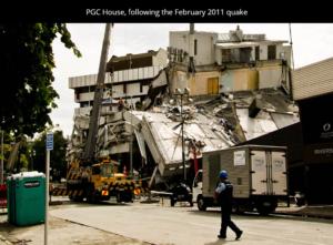 زلزال عام 2011 في نيوزيلندا فتبينوا