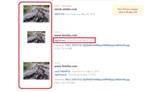 TinEye search results فتبينوا