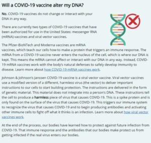 فيروس سارس-كوف-2 لم يتم تصنيعه ولقاحات كورونا لا تتسبّب في تغيير الشيفرة الوراثية