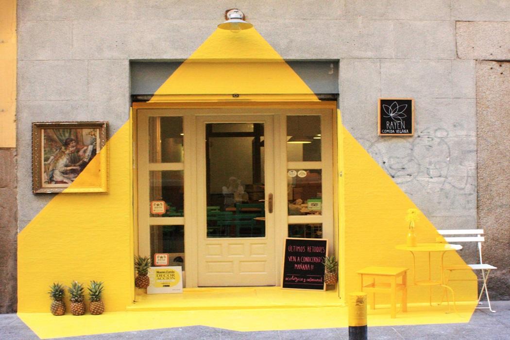 صورة مطعم نباتي في إسبانيا وليس جمعية أمريكيا للفاشلين فتبينوا