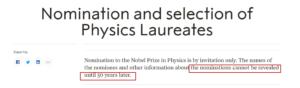 ادعاء ترشيح الهام فضالي لجائزة نوبل