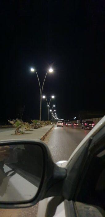 الصورة الأصلية غير المفبركة صورت في ليبيا