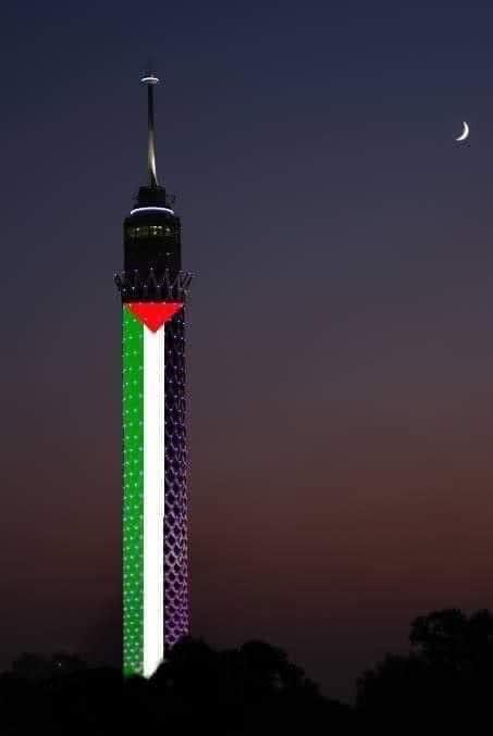 هذه الصورة مفبركة برج القاهرة