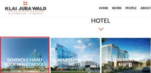 فندق على شكل جيتار في فلوريدا من تصميم Klai Juba Wald