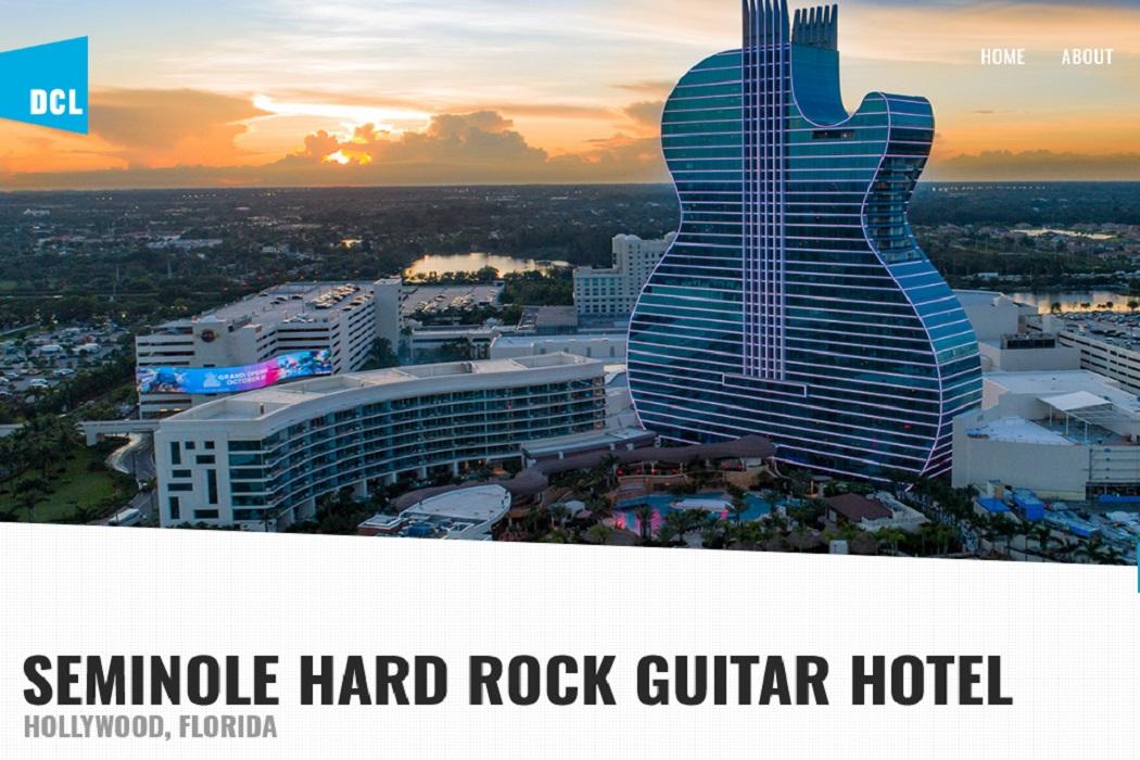فندق الجيتار في فلوريدا مصممته ليست زها حديد
