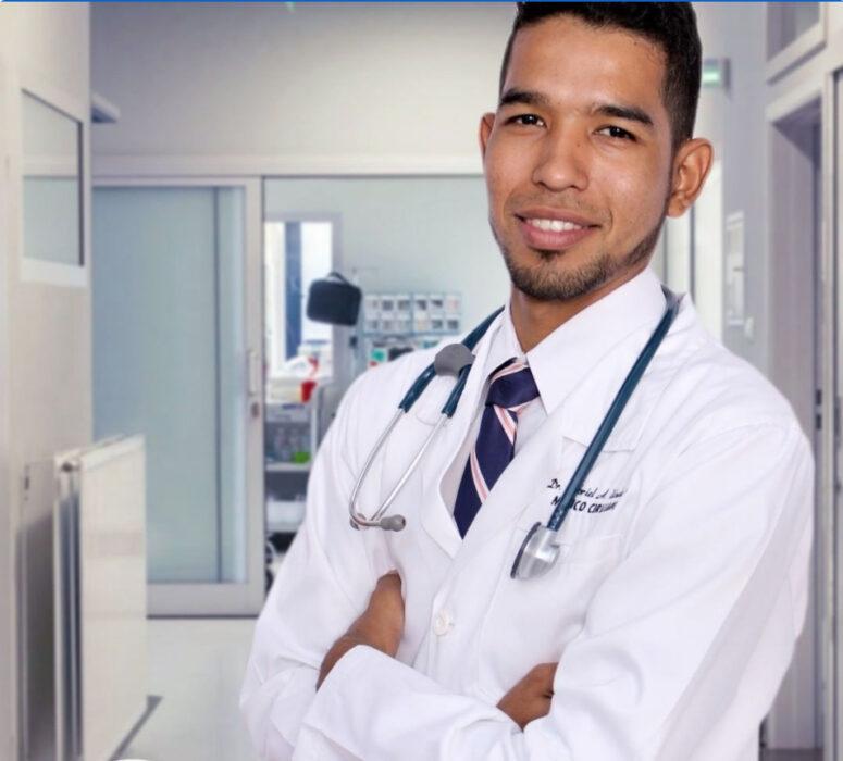 صاحب المقطع طبيب في فنزويلا ولم يصور في الهند