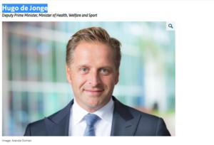 ادعاء وزيرة الصحة في هولندا