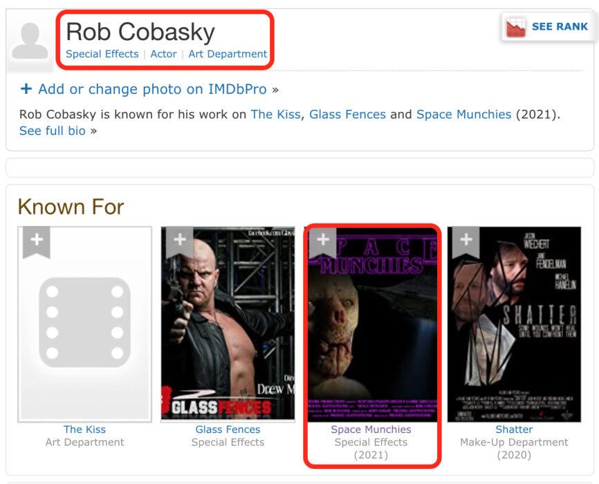 روب كوبسكي Rob Cobasky صاحب مجسم فني وليس ذئبا بشريا