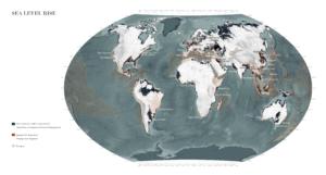 كيف سيؤثر ارتفاع مستوى البحر على اليابسة موقع أطلس العالم فتبينوا