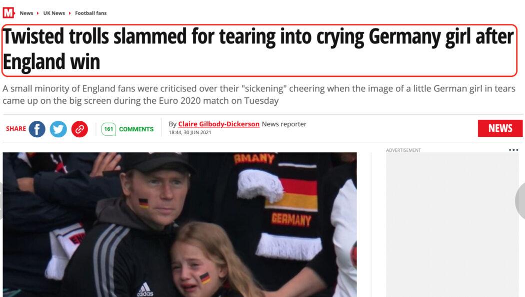 مزاعم تلقي هذه الفتاة مبلغا ماليا من ألمانيا كاذبة
