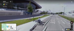 لقطة شاشة من خدمة خرائط جوجل من أمام مقر شركة BMW فتبينوا