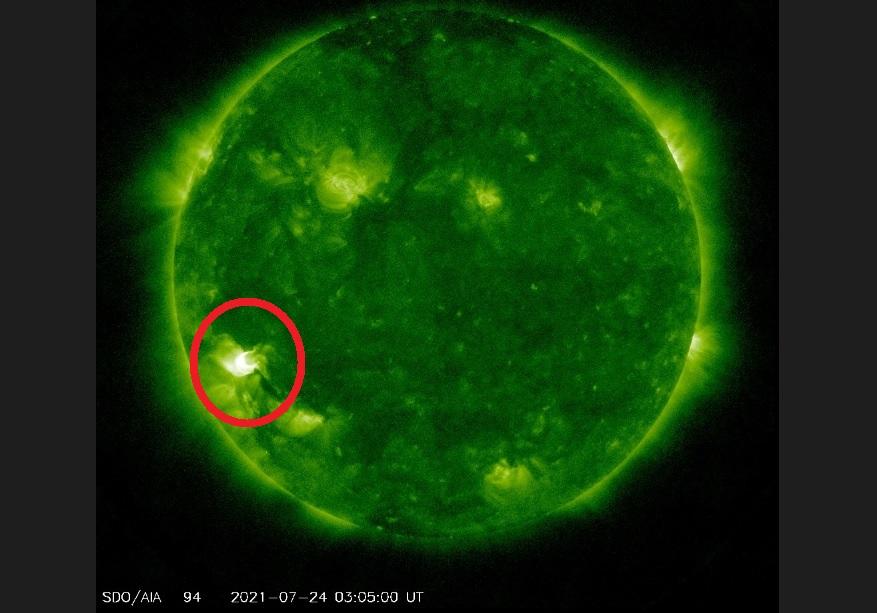 التوهج الشمسي لن يذيب ما على الأرض فتبينوا