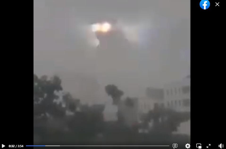 فيديو يظهر فيه كائن غريب في سماء الصين أو الهمد زائف فتبينوا